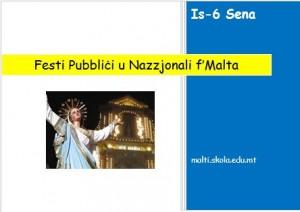 Festi Pubblici u Nazzjonali f'Malta