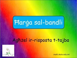 Harga sal-Bandli - mistoqsijiet interattivi 2
