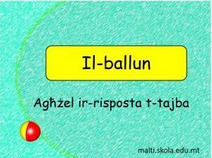 Il-Ballun - tahrig interattiv