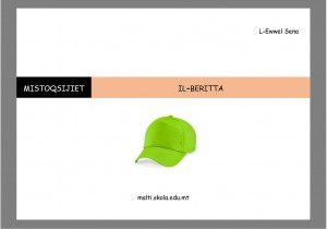 Il-Beritta - karti tat tahrig