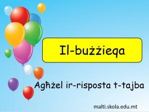 Il-Buzzieqa - mistoqsijiet interattivi