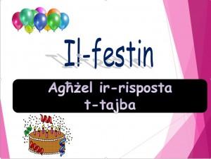 Il-Festin - mistoqsijiet interattivi 1
