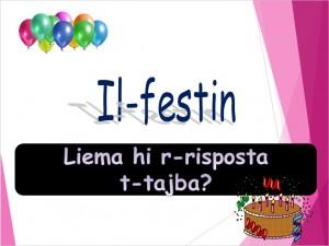 Il-Festin - mistoqsijiet interattivi 2