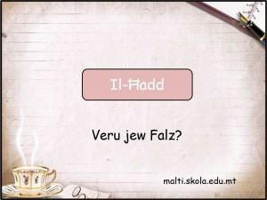 Il-Hadd - mistoqsijiet interattivi