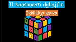Il-konsonanti dghajfin