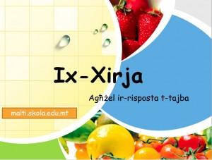 Ix-xirja-mistoqsijiet interattivi 1