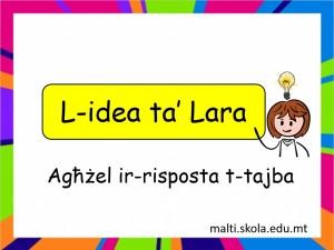 L-Idea ta Laramistoqsijiet interattivi