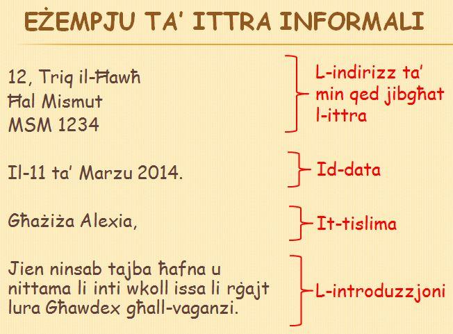 L-Ittra Informali_Maria Simiana