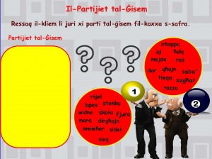 Partijiet tal-Gisem-Yanica Fava