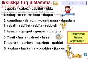Ikklikkja fuq il-Mamma