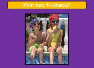 Xinti tara fl-istampa K2 T3