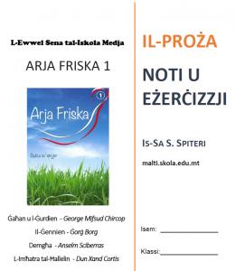 Arja Friska 1 Tahrig