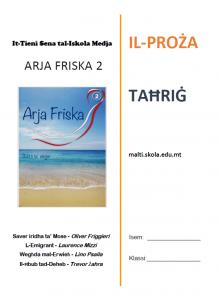 Arja Friska 2 Tahrig