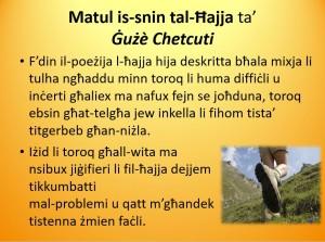 Matul is-Snin tal-Ħajja ta' Gużè Chetcuti