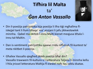 Tifħira lil Malta ta' Gan Anton Vassallo