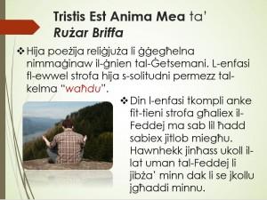 Tristis est anima mea ta' Rużar Briffa