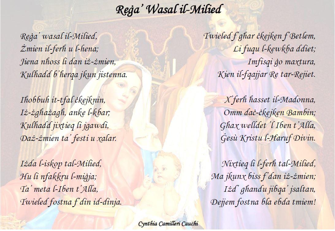 Rega Wasal il-Milied