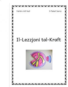 Il-Lezzjoni tal-Kraft