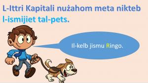 L-Ittri Kapitali - meta nuzahom - prezentazzjoni yr 1,2