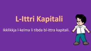 L-Ittri Kapitali - meta nuzahom - tahrig yr 1,2