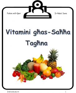 Vitamini ghas-Sahha Taghna