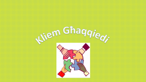 il-klem ghaqqiedi dahla ppt