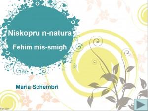 Niskopru n-Natura-Maria Schembri
