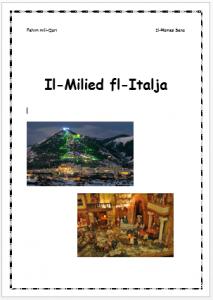 Il-Milied fl-Italja